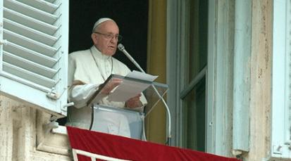 Papa Francisco se pronuncia por la justicia y la paz en Siria