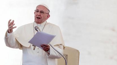Papa muestra preocupación por situación de violencia en Nicaragua
