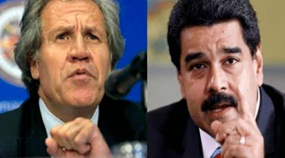 """Almagro afirmó que sus palabras acerca de no """"descartar ninguna opción"""" para salir de la crisis, fue manipulada por los medios"""