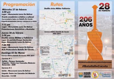 206 años de la Batalla de Cúcuta