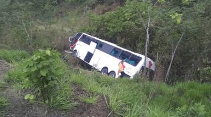 Grave accidente de tránsito en el estado Táchira, Venezuela