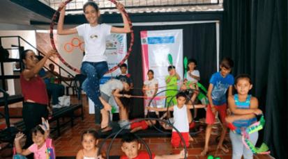 Niños de Norte de Santander aprenderán del circo