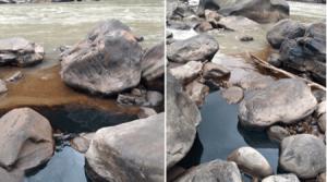 Derrame de crudo en el río Toledo