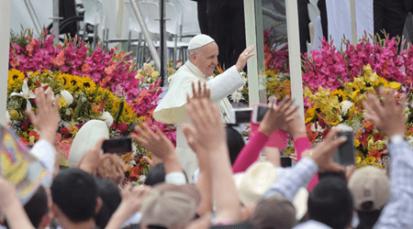 """Papa Francisco: """"Discipulado, continúo movimiento haciaCristo"""""""
