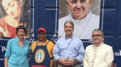 Diplomáticos de EE.UU. observan crisis fronteriza desde la Casa de Paso 'Divina Providencia'