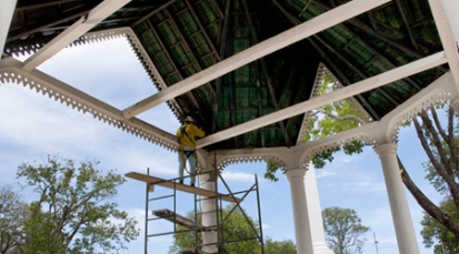Después de 20 años de olvido, invierten en el Parque Colón