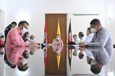 Se establece mesa interinstitucional en Norte de Santander para enfrentar la pandemia