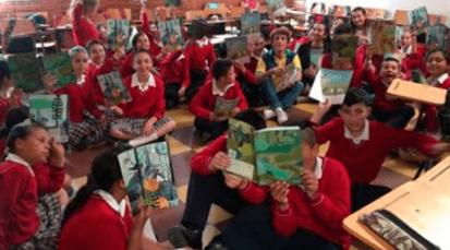 Niños en zona rural de Mutiscua disfrutan de la lectura y el aprendizaje