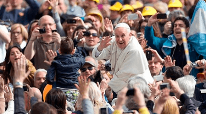 """Papa Francisco: """"El Sacramento de la Confirmación nos une a todos, todos somos una sola iglesia"""""""