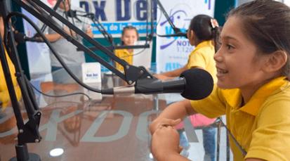 """Niños del Asilo Andresen viven """"Un gol por la paz"""""""