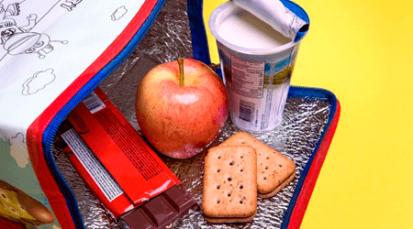Comida saludable en lonchera escolar ayuda al desarrollo de los niños
