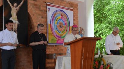 """V Asamblea Sinodal: """"En la Diócesis de Cúcuta se experimenta como no se puede experimentar en ninguna otra parte a la Iglesia, una santa Católica y Apostólica"""".  Mons. José Gómez"""