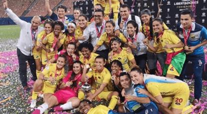 Atlético Huila femenino alza la Copa Libertadores de América