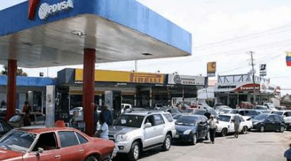 Reducción en envío de combustible al Táchira