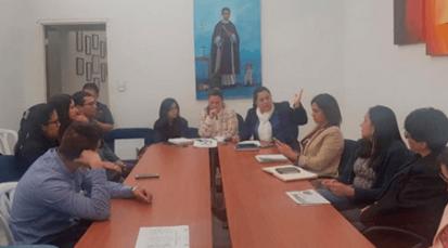 Encuentro de personeros con veedores y funcionarios de la salud en Pamplona