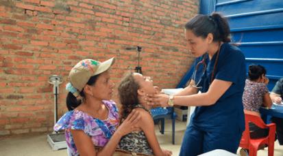 Salud para los migrantes en la Casa de Paso Divina Providencia