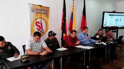 Balance positivo en informe de seguridad de Cúcuta
