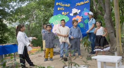 Ruta ecológica fue liderada por estudiantes de Los Patios