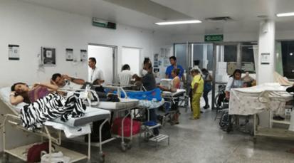 Hospital de Cúcuta sobrepasa el límite de pacientes por atender