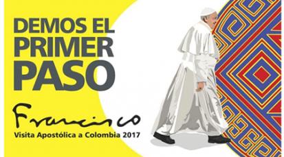 Música y arte para recibir al papa en Bogotá