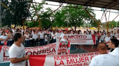 En Cúcuta se vivió la Marcha Nacional por la Vida