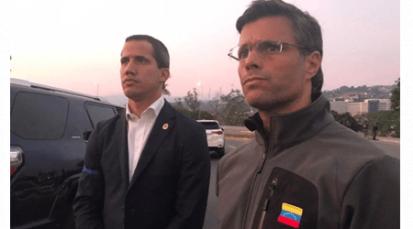 Militares venezolanos se rebelan: Liberan al opositor Leopoldo López