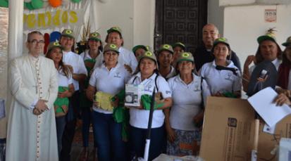 Diócesis de Cúcuta concluye segunda fase de Participaz con la entrega de más de 87 millones de pesos