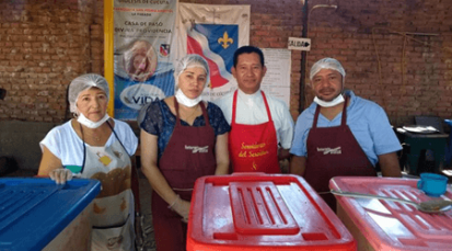 Durante los 3 últimos meses, la Diócesis de Cúcuta ha entregado más de 155.000 raciones de alimentos a población migrante