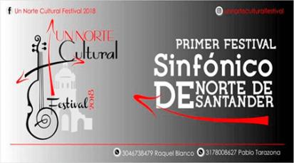 Primer festival sinfónico de Norte de Santander