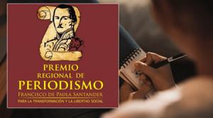 Premio Regional de Periodismo Francisco de Paula Santander