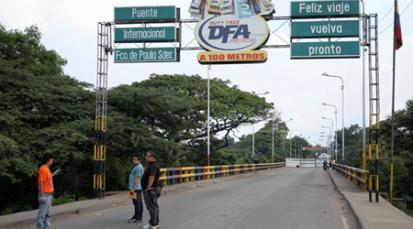 Población fronteriza solicitan mayor atención en seguridad en el Puentes Internacional Simón Bolívar