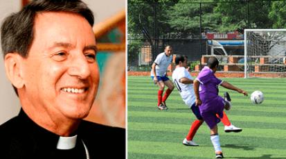 Cardenal Primado de Colombia anima a jugadores de la Copa de la Fe