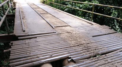 Cierre total en el puente Las Garzas en la vía Tibú-Cúcuta a partir del miércoles