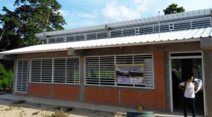 Nueva escuela para niños de La Gabarra
