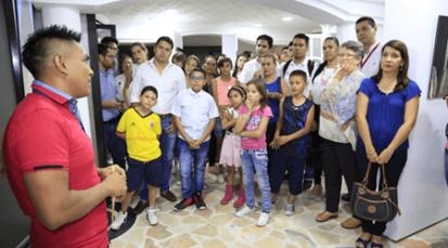Comunidad Barí inauguró sala de exposiciones