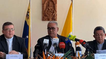 Obispos de Venezuela, como ciudadanos se manifiestan ante el gobierno nacional