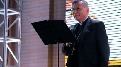 Conmemoración del primer aniversario de la visita del Papa Francisco a Colombia