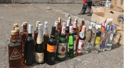 Medidas de alerta y prevención con el licor adulterado