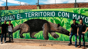 300 metros de mural en Cúcuta dedicados al medio ambiente