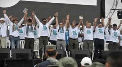 'Fuerza Alternativa Revolucionaria de Colombia': así se llamará el partido político de las Farc