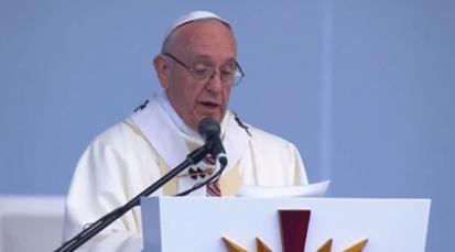 """""""Jesús nos invita a ir mar adentro, nos impulsa al riesgo compartido"""", homilía del Papa en Bogotá"""