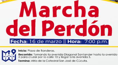 Diócesis de Cúcuta marchará por la paz, la reconciliación y la vida