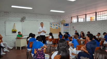 La Pastoral Vocacional visita colegios y anima en el proyecto de vida