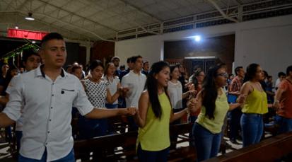 Más de 1.000 jóvenes manifestaron su compromiso con la Iglesia