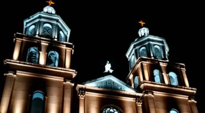 CENS ilumina la catedral San José de Cúcuta