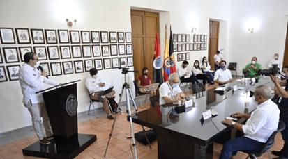 Se firma acuerdo que brindará un nuevo sistema de aguas residuales para el área metropolitana de Cúcuta
