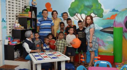 Ludoteca para los niños del Centro de Migraciones de la Diócesis de Cúcuta