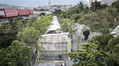 Preparativos para la Fiesta del Libro en Medellín