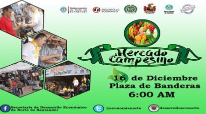 En el último Mercado Campesino de Cúcuta participarán 220 cultivadores