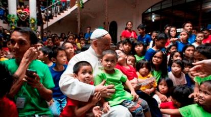 """Papa Francisco contra el """"bullying"""": eso es obra de satanás"""